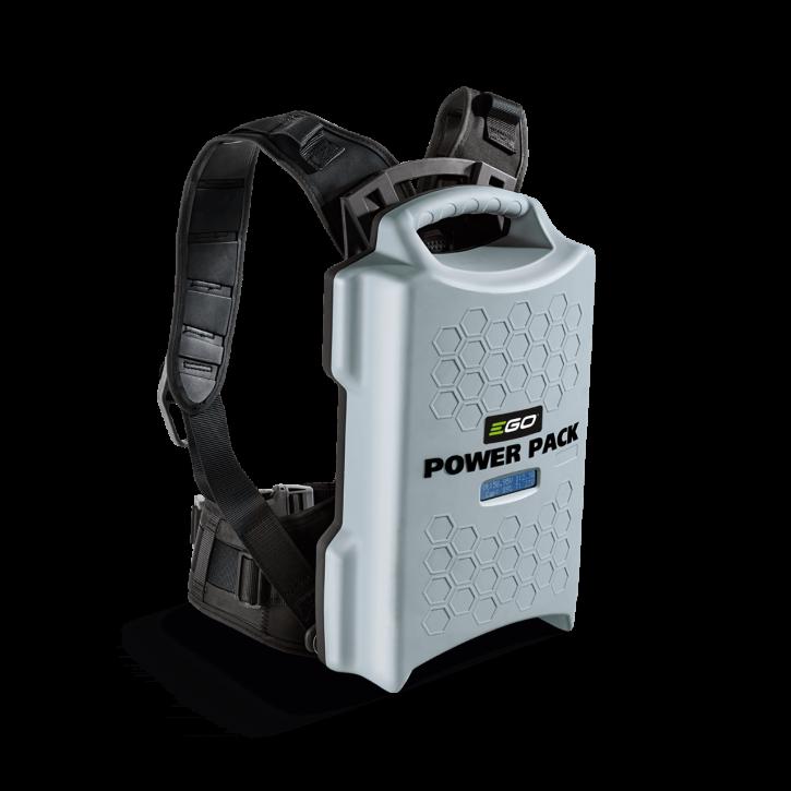 EGO PROFI<br>BAX1301<br>rückentragbar, 1300Wh<br>mit Tragegurt und Adapter