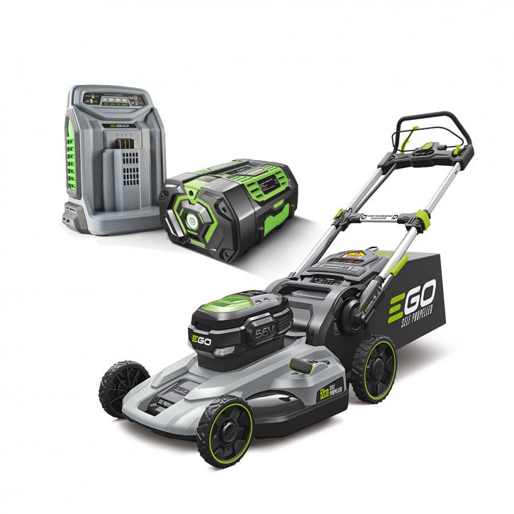 EGO Rasenmäher<br>LM2122E-SP<br>52 cm, Kunststoffgehäuse<br>Radantrieb<br>inkl. 7.5 Ah Batterie und Schnell-Ladegerät