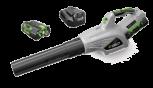 EGO Laubbläser LB4801E<br />SET inkl. Standardladegerät und Batterie 2.0 Ah