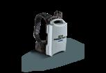EGO Akku<br />BAX1301<br />rückentragbar, 1300 Wh<br />mit Tragegurt und Adapter